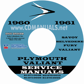 1960-1961 Plymouth Shop Manual | eBooks | Automotive