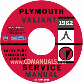 1962 Plymouth Shop Manual | eBooks | Automotive