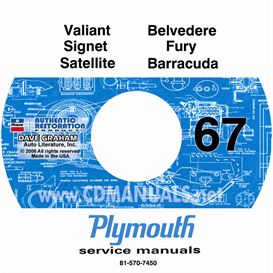 1967 Plymouth Shop Manual | eBooks | Automotive