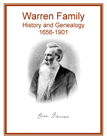 Warren Family History and Genealogy | eBooks | History