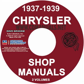 1937-1939 CHRYSLER SHOP MANUAL All Models | eBooks | Automotive