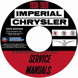 1958-1959 CHRYSLER SHOP MANUAL All Models | eBooks | Automotive