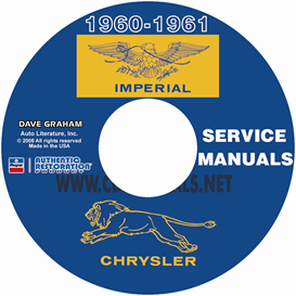 1960-1961 CHRYSLER AND IMPERIAL SHOP MANUAL All Models | eBooks | Automotive