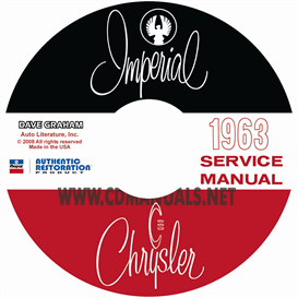 1963 CHRYSLER SHOP MANUAL All Models | eBooks | Automotive