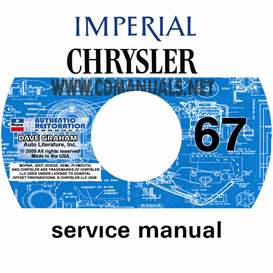 1967 CHRYSLER AND IMPERIAL SHOP MANUAL All Models | eBooks | Automotive