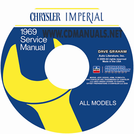 1969 CHRYSLER SHOP MANUAL All Models | eBooks | Automotive