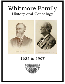 Whitmore Family History and Genealogy | eBooks | History