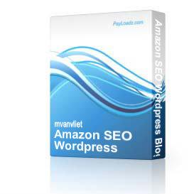 Amazon SEO Wordpress Blogs ( MRR ) | Software | Design Templates