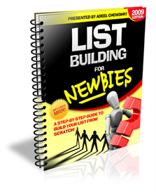 List Building For Newbies ( PLR ) | eBooks | Internet