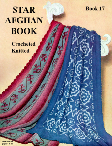 Afghan Book - Adobe .pdf Format | eBooks | Arts and Crafts