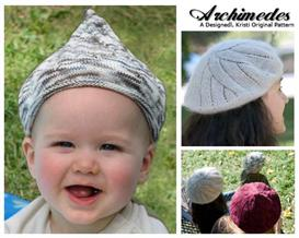 Archimedes Knit Hat Patterns 3-in-1 | Other Files | Arts and Crafts