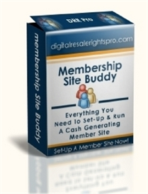 Membership Site Buddy ( MRR ) | Software | Internet