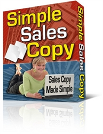 Simple Sales Copy ( PLR ) | Software | Internet