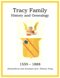 Tracy Family History and Genealogy | eBooks | History