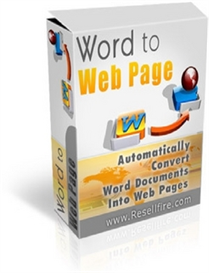 Word to Webpage ( MRR ) | Software | Internet