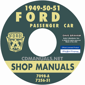 1949-1951 Ford Shop Manual - All Models | eBooks | Automotive