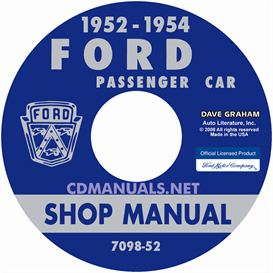 1952-1954 Ford Shop Manual - All Models | eBooks | Automotive