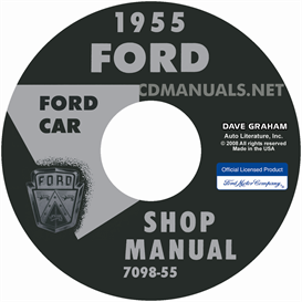 1955 Ford Shop Manual - All Models | eBooks | Automotive