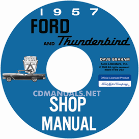 1957 Ford Car Shop Manual | eBooks | Automotive
