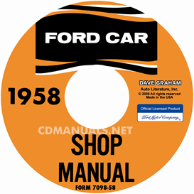 1958 Ford Shop Manual - All Models | eBooks | Automotive