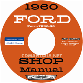 1960 Ford Car Shop Manual | eBooks | Automotive