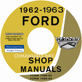 1962-1963 Ford Car Shop Manual - All Models | eBooks | Automotive