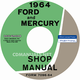 1964 Ford Shop Manual - All Models | eBooks | Automotive
