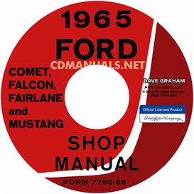 1965 Ford Mustang, Falcon, Futura, Fairlane, Ranchero, And Mercu | eBooks | Automotive