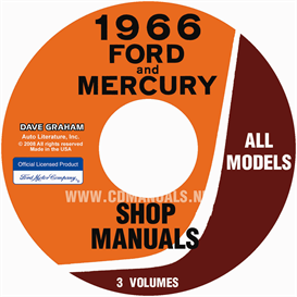 1966 Ford Shop Manual For Cars, Vans, And Econoline | eBooks | Automotive