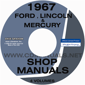 1967 Ford Shop Manual Galaxie Ltd Monterey Park Lane T-Bird | eBooks | Automotive
