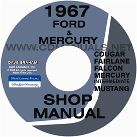 1967 Shop Manual Mustang Falcon Fairlane Ranchero Cougar Comet C | eBooks | Automotive