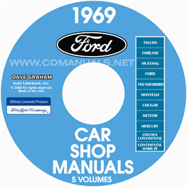 1969 Ford Car Shop Manuals All Models | eBooks | Automotive