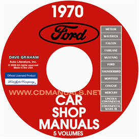 1970 Ford, Lincoln, Mercury Shop Manuals All Models | eBooks | Automotive