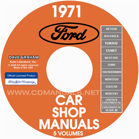 1971 Ford, Lincoln, Mercury Shop Manuals  All Models | eBooks | Automotive