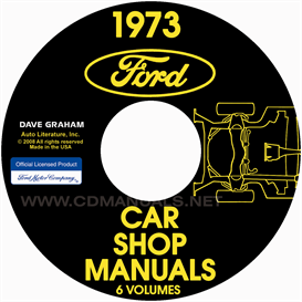 1973 Shop Manuals - Ford, Lincoln, And Mercury Cars  All Models | eBooks | Automotive