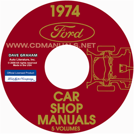 1974 Ford, Lincoln, And Mercury Shop Manuals  All Models | eBooks | Automotive