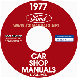 1977 Ford, Lincoln And Mercury Shop Manuals | eBooks | Automotive