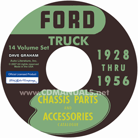 1928-1956 Ford Truck Parts Books | eBooks | Automotive