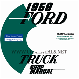 1959 Ford Truck Shop Manual | eBooks | Automotive