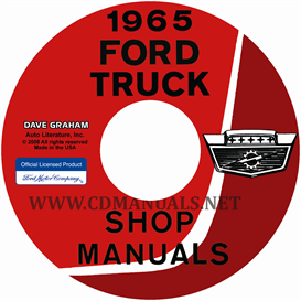 1965 Ford Truck Shop Manual Set | eBooks | Automotive