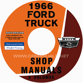 1966 Ford Truck Shop Manual Set | eBooks | Automotive