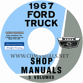1967 Ford Truck Shop Manual Set | eBooks | Automotive