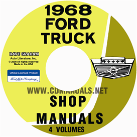 1968 Ford Truck Shop Manual Set | eBooks | Automotive