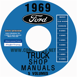 1969 Ford Truck Shop Manual | eBooks | Automotive
