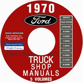 1970 Ford Truck Shop Manuals | eBooks | Automotive