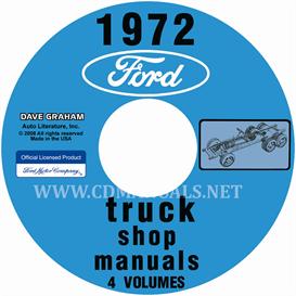 1972 Ford Truck Shop Manuals 5 Volume Set | eBooks | Automotive