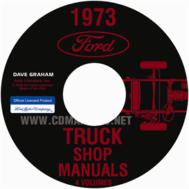 1973 Ford Truck Shop Manual Set | eBooks | Automotive