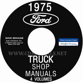 1975 Ford Truck Shop Manuals 5 Volume Set | eBooks | Automotive