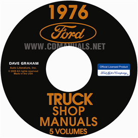 1976 Ford Truck Shop Manual Pickup | eBooks | Automotive