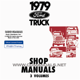 1979 Ford Truck Shop Manual Set | eBooks | Automotive